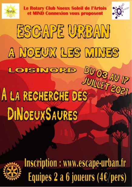Une aventure à Nœux-les-Mines du 3 au 17 juillet 2021